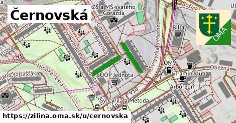 ilustračný obrázok k Černovská, Žilina