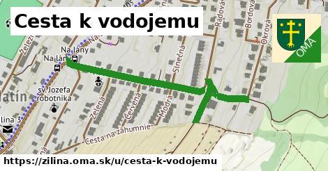 ilustrácia k Cesta k vodojemu, Žilina - 522m