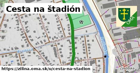 ilustračný obrázok k Cesta na štadión, Žilina