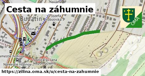 ilustračný obrázok k Cesta na záhumnie, Žilina