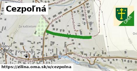 ilustračný obrázok k Cezpoľná, Žilina