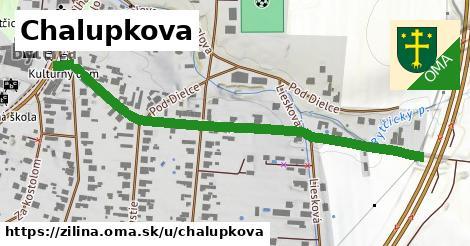 ilustrácia k Chalupkova, Žilina - 608m