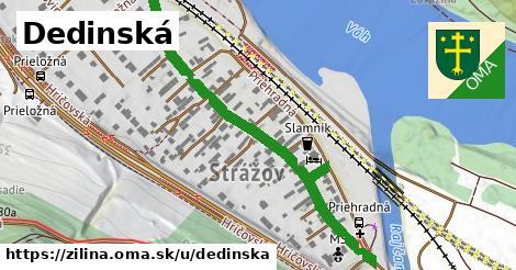 ilustrácia k Dedinská, Žilina - 502m