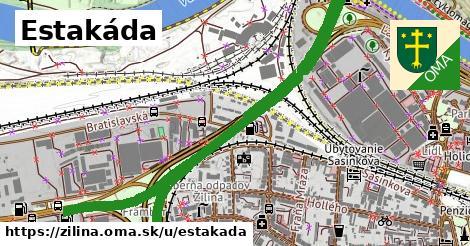 ilustrácia k Estakáda, Žilina - 2,5km
