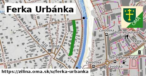 ilustrácia k Ferka Urbánka, Žilina - 182m