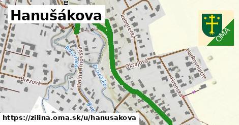 ilustrácia k Hanušákova, Žilina - 624m