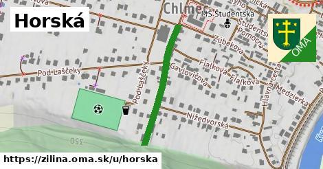 ilustrácia k Horská, Žilina - 283m