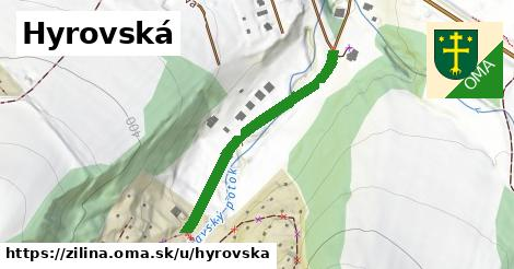 ilustrácia k Hyrovská, Žilina - 353m