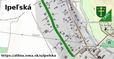 ilustrácia k Ipeľská, Žilina - 417m