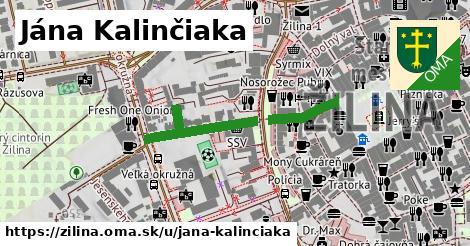 ilustrácia k Jána Kalinčiaka, Žilina - 292m