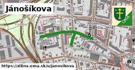 ilustrácia k Jánošíkova, Žilina - 298m
