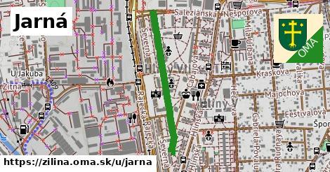 ilustrácia k Jarná, Žilina - 570m