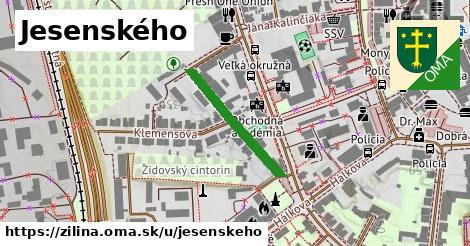 ilustrácia k Jesenského, Žilina - 222m