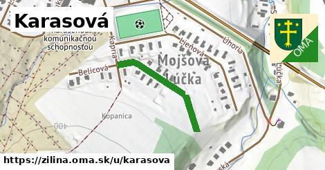 ilustrácia k Karasová, Žilina - 261m