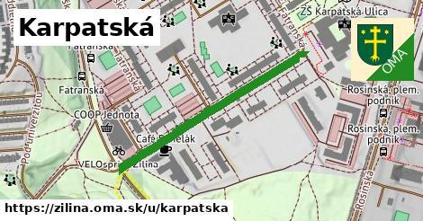 ilustrácia k Karpatská, Žilina - 383m
