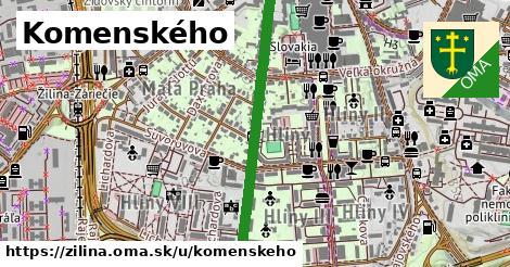 ilustrácia k Komenského, Žilina - 0,80km
