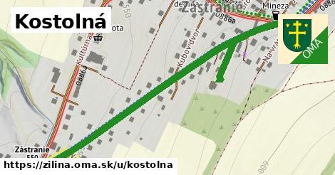 ilustrácia k Kostolná, Žilina - 653m
