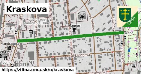 ilustrácia k Kraskova, Žilina - 554m