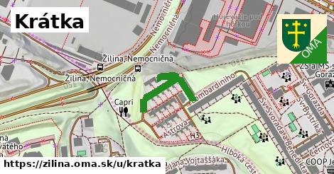 ilustrácia k Krátka, Žilina - 198m