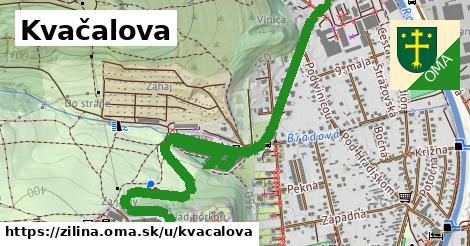 ilustrácia k Kvačalova, Žilina - 1,66km
