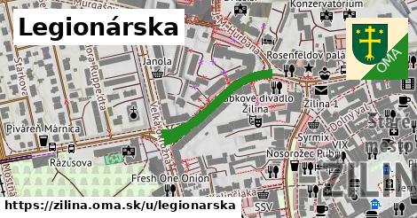 ilustrácia k Legionárska, Žilina - 229m