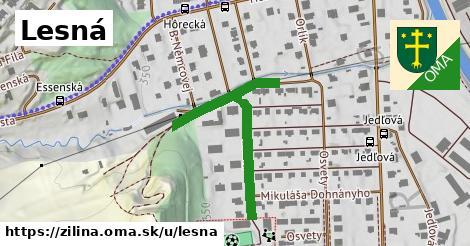 ilustrácia k Lesná, Žilina - 436m