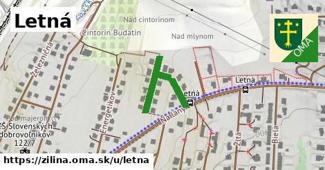ilustrácia k Letná, Žilina - 240m