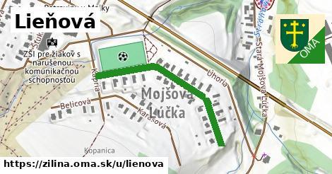 ilustrácia k Lieňová, Žilina - 377m