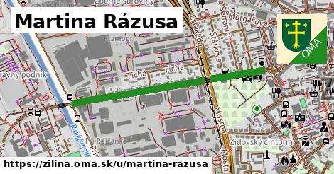ilustrácia k Martina Rázusa, Žilina - 0,88km