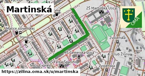 ilustrácia k Martinská, Žilina - 394m