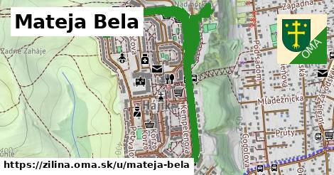 ilustrácia k Mateja Bela, Žilina - 2,3km