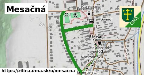 ilustrácia k Mesačná, Žilina - 499m