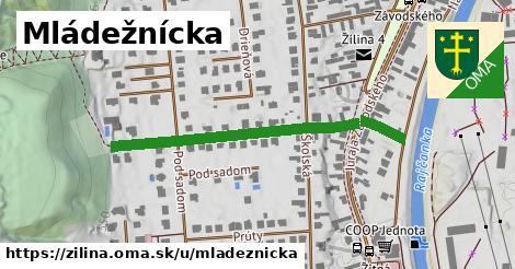ilustrácia k Mládežnícka, Žilina - 424m