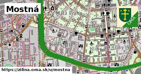 ilustrácia k Mostná, Žilina - 4,4km