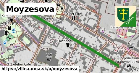 ilustrácia k Moyzesova, Žilina - 601m