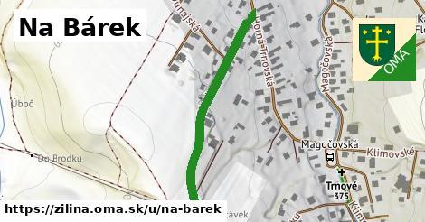 ilustrácia k Na Bárek, Žilina - 511m