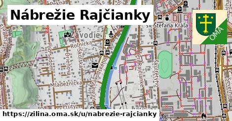 ilustrácia k Nábrežie Rajčianky, Žilina - 0,90km