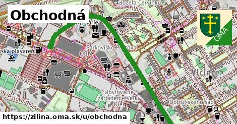 ilustrácia k Obchodná, Žilina - 1,29km