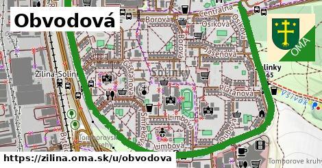 ilustrácia k Obvodová, Žilina - 2,3km