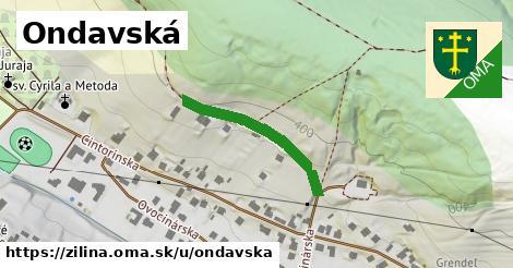 ilustrácia k Ondavská, Žilina - 252m