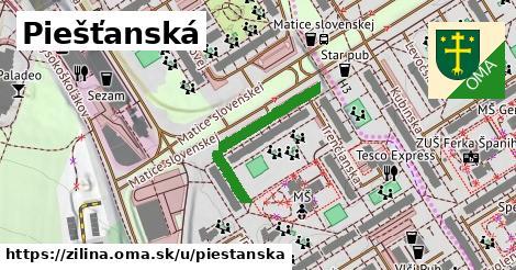 ilustrácia k Piešťanská, Žilina - 255m