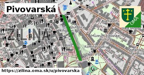 ilustrácia k Pivovarská, Žilina - 251m