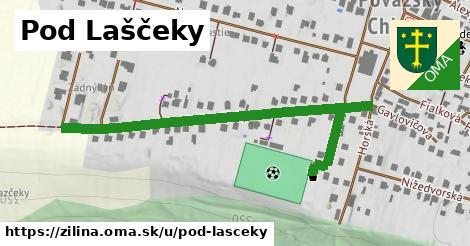 ilustrácia k Pod Laščeky, Žilina - 533m