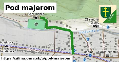 ilustrácia k Pod majerom, Žilina - 306m