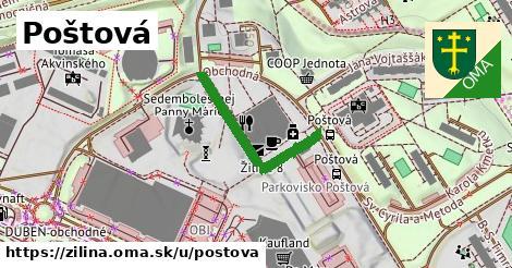 ilustrácia k Poštová, Žilina - 274m