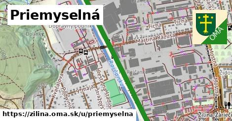 ilustrácia k Priemyselná, Žilina - 1,40km