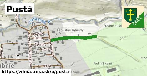 ilustrácia k Pustá, Žilina - 412m