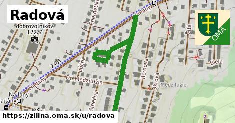 ilustrácia k Radová, Žilina - 561m