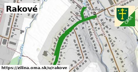 ilustrácia k Rakové, Žilina - 697m