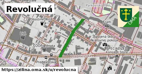 ilustrácia k Revolučná, Žilina - 232m